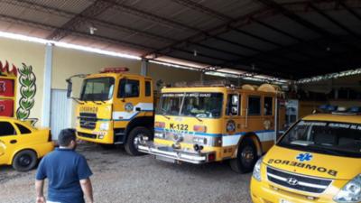 HOY / Bomberos de Mingua Guasú dejarán de operar por falta de recursos