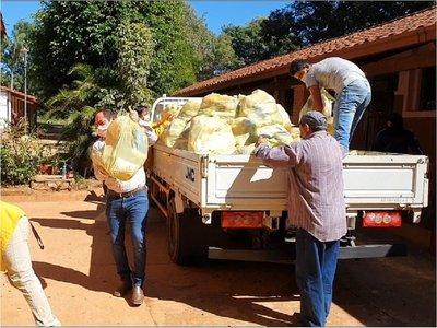 1.500 kits de víveres a familias humildes de Horqueta