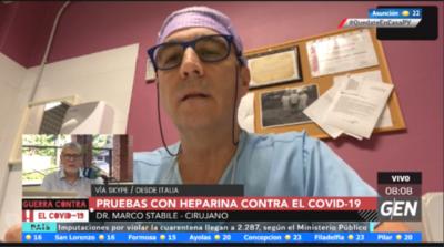 HOY / COVID-19: Tratamiento anticoagulante con heparina da buenos resultados en pacientes de Italia