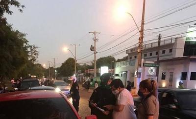 HOY / Covid-19: Varios detenidos en San Lorenzo por violar cuarentena