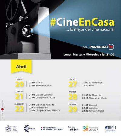 Inicia ciclo de cine nacional por Paraguay TV en apoyo al sector