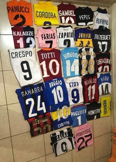 Ex Cerro Porteño subastará camisetas para recaudar fondos