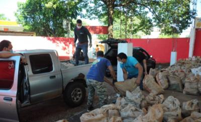 HOY / Consejo de Seccionales distribuye lote de 30 mil kilos de productos agrícolas