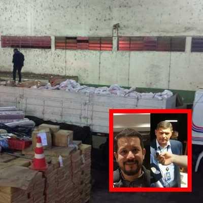 Desacuerdo entre aduaneros deriva en incautación de 35 mil kilos de mercaderías de contrabando