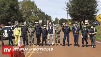 RIGUROSO CONTROL SANITARIO EN TOMÁS ROMERO PEREIRA