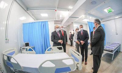 Inauguran el primer hospital de contingencia: Fue construido en 25 días
