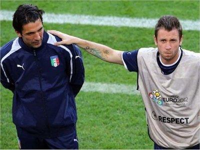 Cassano asegura que Buffon quiere jugar su sexto Mundial