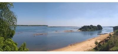 Leve repunte del cauce del Paraná en Ayolas