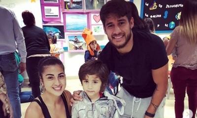 """El hijo mayor de Cristina Aranda y """"Tito"""" Torres cumplió 7 años"""