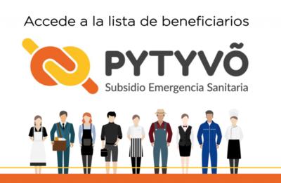 Dan a conocer nueva nómina de beneficiados del Programa Pytyvõ