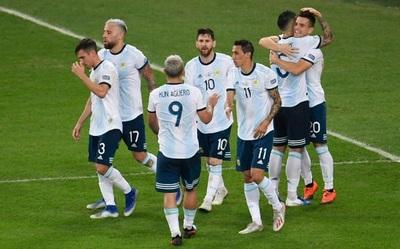 Argentina, la que más puntos suma en la historia de la Copa América