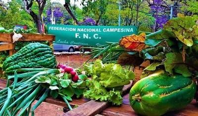 Campesinos donan 13.500 kilos de víveres a familias afectadas por paro total