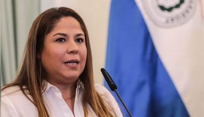 Presidente aceptó la renuncia de Samudio como presidenta de Petropar