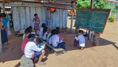 Paso Barreto: Niños indígenas no tienen acceso a la educación virtual