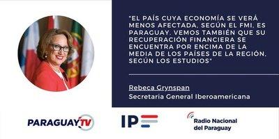 Resaltan que Paraguay tendrá rápida recuperación económica tras coronavirus