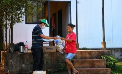 Itaipu distribuyó en tres semanas más de 200.000 kg de alimentos