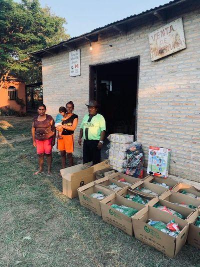 IPA entrega kits de alimentos y apoya ollas populares
