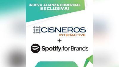 Cisneros Interactive y Spotify sellan alianza comercial exclusiva en Paraguay (y otros 11 países)