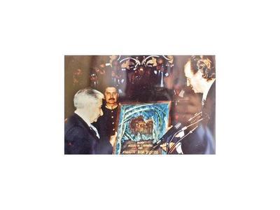 Hace 30 años Roa Bastos recibía el Premio Cervantes