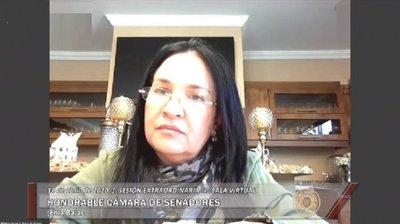 Prisión domiciliaria para exsenadora María Eugenia Bajac