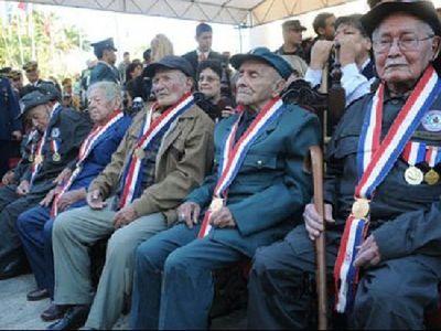 Veteranos de la Guerra del Chaco cobran haberes desde esta tarde