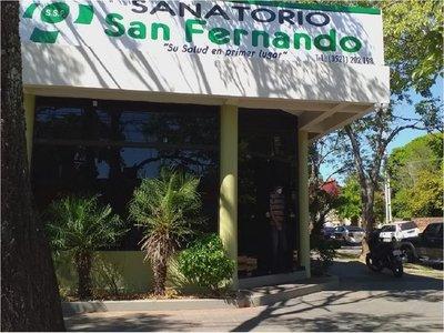 Salud clausura sanatorio en Coronel Oviedo que dio por muerta a paciente