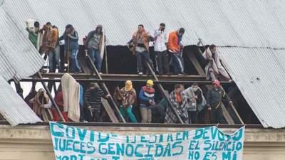 Presos se amotinan en cárcel de Buenos Aires por la pandemia del COVID-19