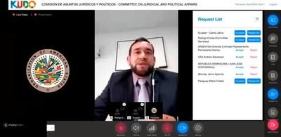 Destacan en la OEA compromiso del Estado con la transparencia en tiempo de pandemia