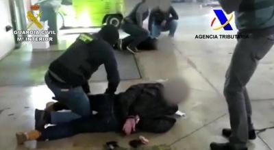 HOY / Tres detenidos en Barcelona por 495 kilos de cocaína procedentes de Paraguay