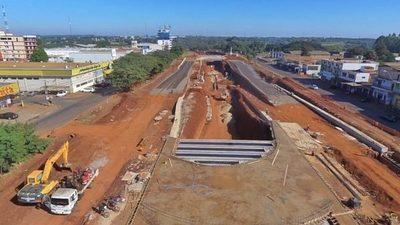 Construcción del multiviaducto de CDE beneficia a más de 700 paraguayos