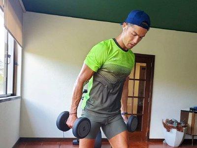 Cristiano se entrena en Madeira a la espera de la vuelta de la serie A