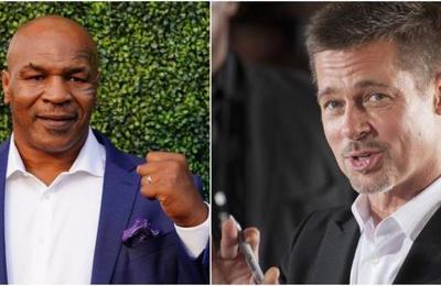 La noche que Mike Tyson encontró a su exesposa con Brad Pitt: 'Me pedía que no lo golpeara'