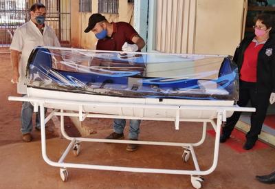 Realizan cápsula para traslado de pacientes con coronavirus en penitenciaría de Pedro Juan Caballero