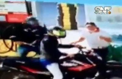 Motochorros al ataque en San Pedro del Paraná