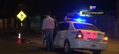 Mujer muere atropellada y responsable se da a la fuga