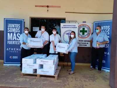 Empresa frigorifica realiza donación a Primera Región Sanitaria