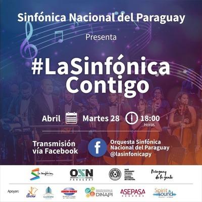 """OSN presenta obra autóctona """"Cacique Yaguarón"""" en La Sinfónica Contigo"""