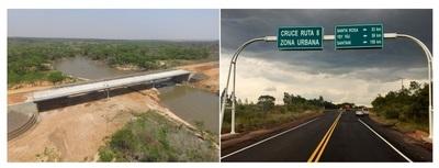 Tacuatî sale del aislamiento con nuevo puente y ruta asfaltada