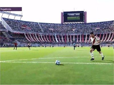 River recrea en PES el épico gol de Nelson Cuevas