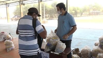 Entregan kits de alimentos, merienda escolar y tareas en colegio Nuevo Amanecer