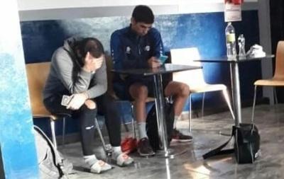 Futbolista acabó en la comisaría tras violar la cuarentena