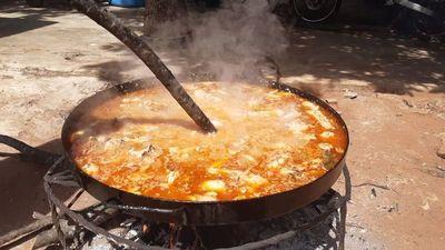 """Olla popular en Areguá: """"Hoy pudimos preparar 50 platos y son más de 100 personas"""""""