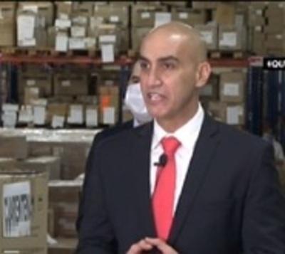 """Ministro Mazzoleni: """"No hubo ninguna sobrefacturación"""""""