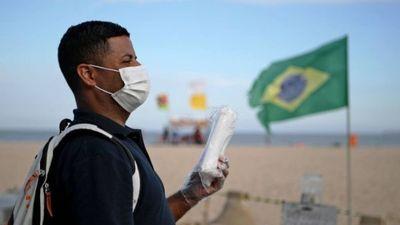Brasil supera 5.000 muertes por Covid-19