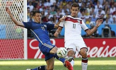Demichelis confiesa 'piel de gallina' cuando recuerda el gol de un paraguayo