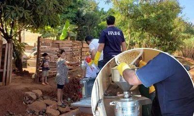 Docentes extensionistas de la Facultad de Politécnica de la UNE entregan leche de soja a personas vulnerables