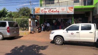 Allanan local de proveedora de alimentos de la Municipalidad de CDE
