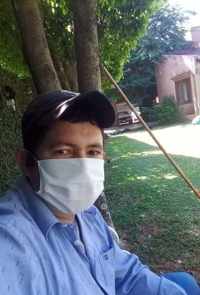 Coronavirus le quitó el trabajo a jardinero