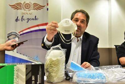 Dinac compró tapabocas vencidos, confirma fiscal