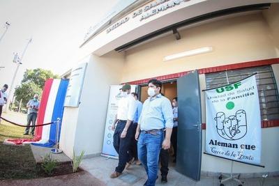 Jefe de Estado inauguró Unidades de Salud de la Familia en Horqueta e Yvy Ya'u